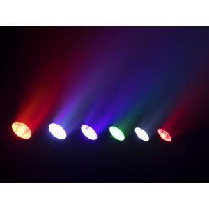 Set bara de led Eurolite LED PIX-6 HCL + husa