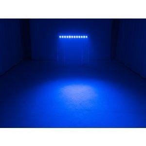 Set bare de leduri 2x Eurolite LED BAR-12 QCL RGB+UV + husa