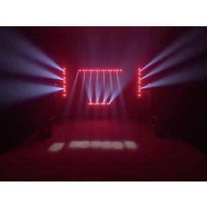Set bare de leduri 2x Eurolite LED STP-7 Beam/Wash + case