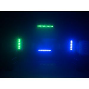 Set bare de leduri 4x Eurolite LED BAR-12 QCL RGBW + 2x husa + controler