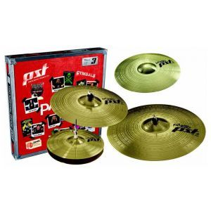 Set Cinel Paiste PST3 Universal Set + 14 Crash