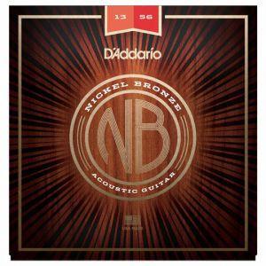 Set corzi chitara acustica 13 56 Daddario NB1356 Nickel Bronze Medium