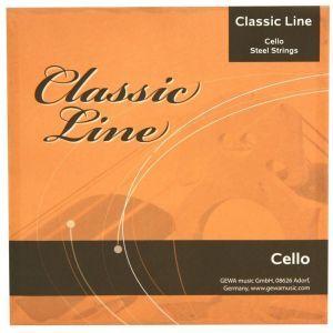 Set Corzi Violoncel 1/2 Gewa Classic Line Cello
