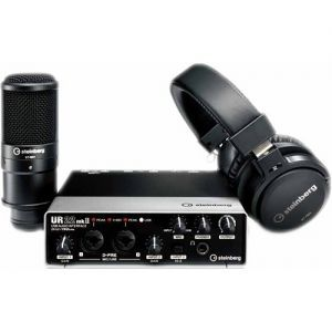 Set Interfata Audio Steinberg UR22 MK2 Recording Pack