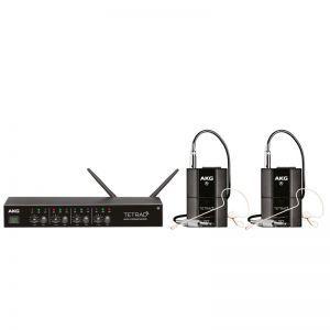 Set Microfoane fara fir AKG DMS Tetrad Performer