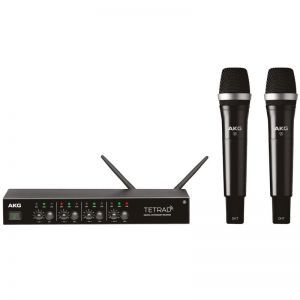 Set Microfoane fara fir AKG DMS Tetrad Vocal D5