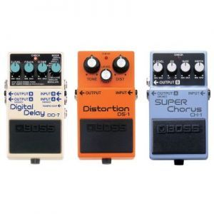 Set Pedale Efect Boss DD-7 DS-1 CH-1