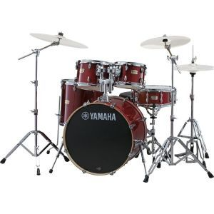 Set Tobe Acustice Yamaha SBP2F5 CR6W Stage Custom Birch