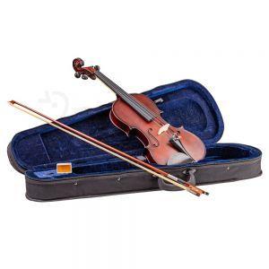 Set vioara Valida V100 4/4 Maro inchis mat