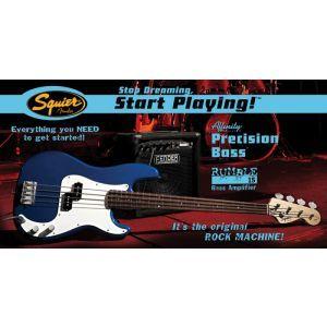 Set Chitara Bas Squier Affinity Precision, Fender Rumble 15