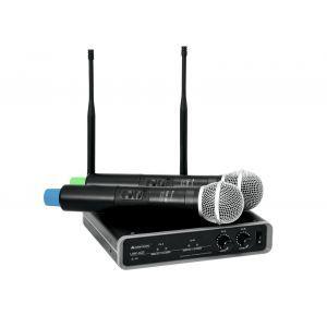 Sistem Microfon Fara Fir Omnitronic UFH 830.3/863.8MHz
