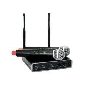 Sistem Microfon Fara Fir Omnitronic UHF 102 828.1/864.8MHz
