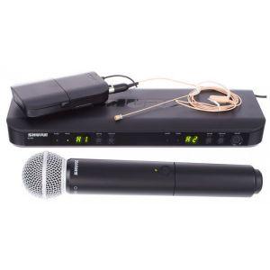 Sistem Microfon Fara Fir Shure BLX1288/MX52 Combo S8