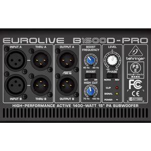 Subwoofer Activ Behringer Eurolive B1500d PRO