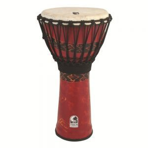 Toca Djembe Freestyle Rope Tuned SFDJ12RP Bali Red